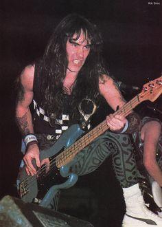 Resultado de imagen para steve harris 1986