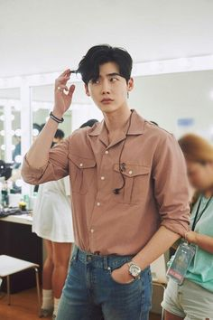 Lee jong suk variety fanmeeting update ❤❤You can find Korean actors and more on our website. Lee Joon, Asian Actors, Korean Actors, Lee Jong Suk Wallpaper, Lee Jong Suk Cute, Lee Jong Hyun, Lee Jong Suk Kim Woo Bin, Lee Hyun Woo, Ulzzang