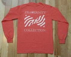 Fraternity Collection a preppy t-shirt website that donates 10% of your purchase to a charity of your choice!