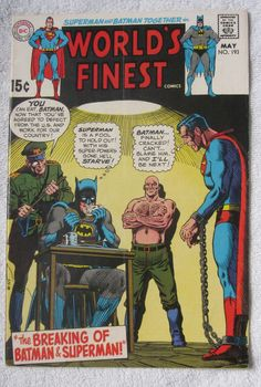 World's Finest Comics #193 (May 1970, DC) FN- 5.5