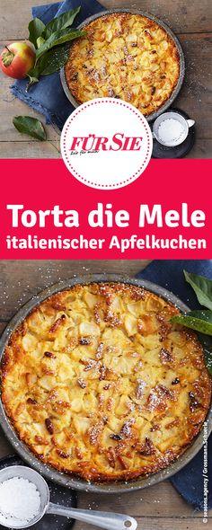 Rezept für Torta die Mele - italienischer Apfelkuchen