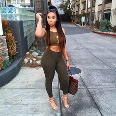 Flawless girl style