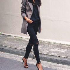 Картинка с тегом «fashion, style, and black»