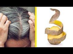 Befreie dich von grauen Haaren mit nur 2 Zutaten! - YouTube