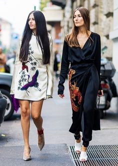 15 Jaw-Dropping Street Style Looks From Milan Fashion Week via @WhoWhatWearUK