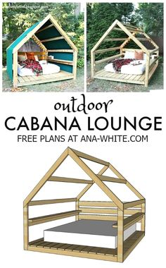 Build an Outdoor Cabana Lounge free plans diy outdoor cabana . - Build an Outdoor Cabana Lounge free plans diy outdoor cabana lounge -