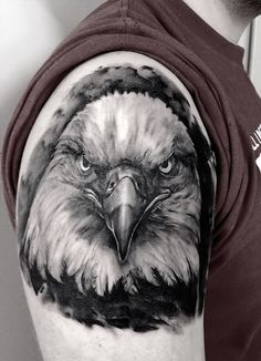 Bald Eagle Tattoo | Illusion Magazine