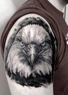 Bald Eagle Tattoo | Illusion Magazine