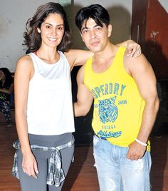 Dillzan Wadia and Bruna Abdullah shoot for a song. #Bollywood #Fashion #Style #Handsome #Beauty