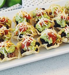 Learn how to prepare this Memorial Day Taco Bites recipe like a pro. With a total time of only 25 minutes, you'll have a delicious dish ready before you know it. Taco Bites, Memorial Day Foods, Memorial Weekend, Seven Layer Dip, Tacos, Baby Shower, Bridal Shower, Summer Recipes, Summer Snacks