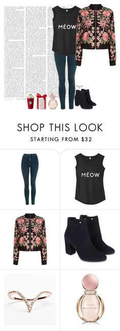 """""""Untitled #633"""" by soso-424-22 ❤ liked on Polyvore featuring Topshop, Needle & Thread, Monsoon and Bulgari"""