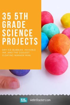 35 Grade Science Projects That Will Blow Your Students' Minds. Engage your grade science students with hands-on experiments and demos. Build newspaper towers, make hydrophobic sand, and see your own heartbeat! Teaching Activities, Teaching Science, Teaching Resources, Teaching Ideas, Science Facts, Science Lessons, Science Ideas, 5th Grade Classroom, Science Classroom