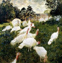 The Turkeys, Claude Monet, 1876