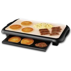 Shop a great selection of Oster Titanium Infused DuraCeramic Griddle Warming Tray, Black/Cr?me TECO). Find new offer and Similar products for Oster Titanium Infused DuraCeramic Griddle Warming Tray, Black/Cr?me TECO). Indoor Bbq, Electric Scooter For Kids, Keep Food Warm, Cooking Temperatures, Thing 1, Drip Tray, Small Kitchen Appliances, Kitchen Gadgets, Kitchen Stuff