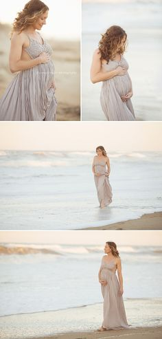 Maternity photography on the beach by Jenny Cruger