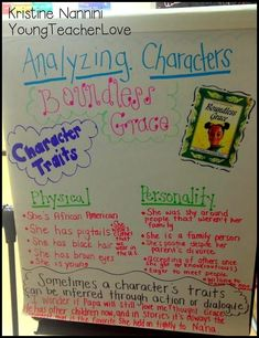Character Study Part Character Traits, Character Change, and More- Young Teacher Love by Kristine Nannini Reading Lessons, Reading Strategies, Teaching Reading, Teaching Ideas, Reading Resources, Guided Reading, Reading Comprehension, Shared Reading, Library Lessons