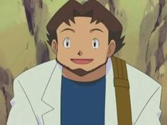 Hoenn Pokemon Professor Birch