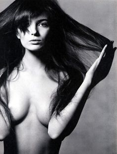 pinterest.com/fra411 #beauty - Paulina Porizkova by Irving Penn (1986)