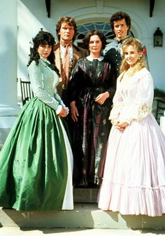 North and South,  1985 - my very most absolute favorite mini-series of all time! Watch it whenever I can!!!!