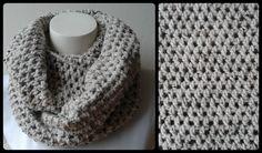 """- Materiaal: 2 bollen """"Tweed"""" garen van de Zeeman (Kleur: 01 - 4199) - Haaknaald: 5.5 - Steken: 200 - Hoogte: 28 cm - You tube: http://www.youtube.com/watch?v=SWmYwidPiD0"""