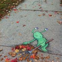 Chalk Art by David Zinn – A Collection