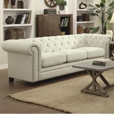 Roy Sofa in Cream | Nebraska Furniture Mart