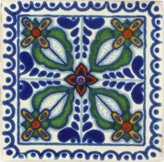 Zamora Talavera Mexican Tile