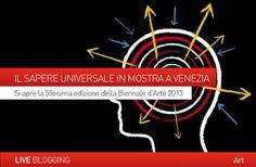 """ARTE:  IL SAPERE UNIVERSALE IN MOSTRA ALLA #BIENNALE DI #VENEZIA 2013. Si apre la 55° edizione dell' Esposizione Internazionale d'Arte, sul tema del """"Palazzo Enciclopedico"""" di Auriti, un ambizioso ed utopistico progetto che prospettava la possibilità di riunire tutti i saperi dell'umanità.  Scopri le novità di quest'anno sul nostro blog... http://www.danieladicosmoadv.it/blog/?p=4130"""