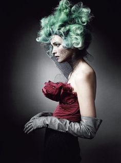 Oribe hair I really want to color wigs and do a shoot like this!!!!