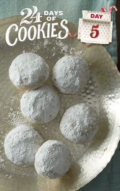 This Christmas classic is a must-have on every cookie platter, and our new version is even easier thanks to our sugar cookie mix. Made with only five ingredients, this classic tea cake (also known as Mexican Wedding Cakes or Snowballs) will melt in your mouth, guaranteed. Try rolling cookies in colored sugar for the second coating instead of powdered sugar for a festive look.