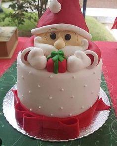 Christmas Cake Designs, Christmas Cake Decorations, Christmas Cupcakes, Holiday Cakes, Holiday Desserts, Holiday Baking, Christmas Baking, Christmas Dishes, Christmas Sweets