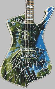 My first dream guitar, Paul Stanley's Cracked Mirror Iceman