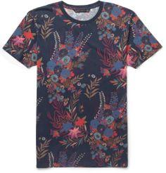 Marc by Marc JacobsWichita Floral-Print Cotton-Jersey T-shirt|MR PORTER