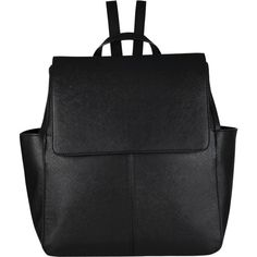 COLLECTION by John Lewis Gia Backpack , Black found on Polyvore