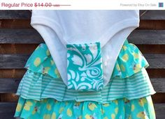 25% Off Select Items Bodysuit Extenders in Teal by SnappySprout