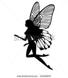 Small Tattoo Designs for Women Fairy Silhouette Silhouette Tattoos, Fairy Silhouette, Silhouette Images, Fairy Tattoo Designs, Small Tattoo Designs, Tattoo Designs For Women, Tattoo Women, Pixie Tattoo, Small Fairy Tattoos