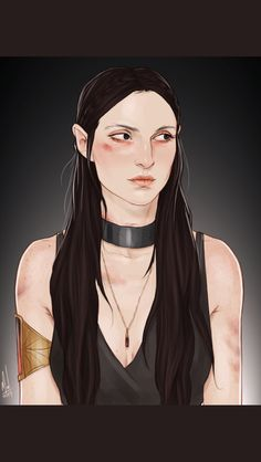 Kaltain Rompier from Throne of Glass series Queen of Shadows by Sarah J Maas (credit goes to artist)