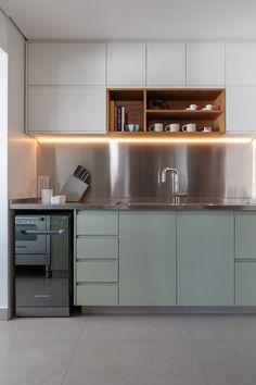 Open Plan Kitchen Living Room, Kitchen Room Design, Big Kitchen, Modern Kitchen Design, Interior Design Living Room, Kitchen Decor, Kitchenette, Küchen Design, Kitchen Furniture