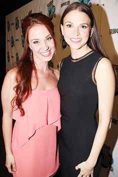 Sutton Foster and Sierra Boggess. Two of my inspirations in the same picture :)
