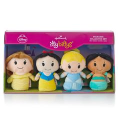 Check out the deal on Hallmark itty bittys Disney Princess Set Stuffed Animal at The Paper Store