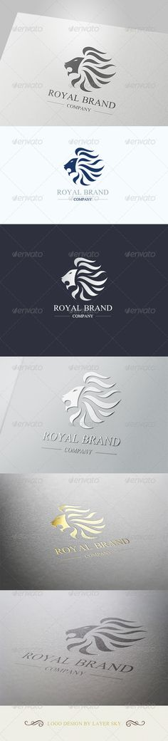 Lion Royal Brand Logo 1  #GraphicRiver        Lion Royal Brand- Logo Template   This logo design for luxury and creative company.  Logo Template Features   AI and EPS 300PPI  CMYK  100% Scalable Vector Files  Easy to edit color / text  Ready to print  Used Free Font (Link Included Main Download)     Created: 5March13 GraphicsFilesIncluded: VectorEPS #AIIllustrator Layered: No MinimumAdobeCSVersion: CS4 Resolution: Resizable Tags: AnimalLogo #arts #design #gold #happy #helpful #hire #king…