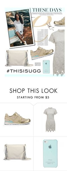 """Play With Prints In UGG: Contest Entry"" by hellodollface ❤ liked on Polyvore featuring UGG Australia, AX Paris, Georg Jensen and thisisugg"