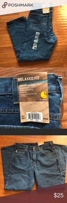 Men's carhartt jeans Brand new with tags size 34x30 Carhartt Jeans