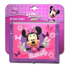 Minnie Mouse Bow-tique Non-Woven Bifold Wallet