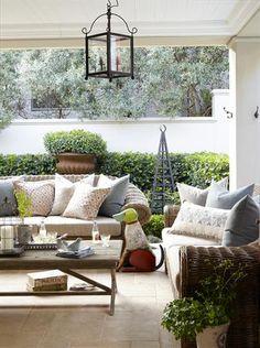 Outdoor living areas - SA Garden and Home Outdoor Furniture Sets, Decor, Living Area, Outdoor Decor, Living Dining Room, Outside Living, Backyard Decor, Home Decor, Outdoor Living Rooms