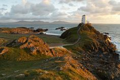 landdwyn Island, off the west coast of Anglesey, North Wales