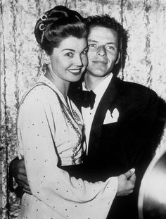 """I'm supposed to have a Ph.D. on the subject of women. But the truth is I've flunked more often than not. I'm very fond of women; I admire them. But, like all men, I don't understand them."" Frank Sinatra and Esther Williams c. 1945"
