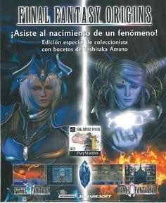 """Final Fantasy Origins - PS - """"¡Asiste al nacimiento de un fenómeno!"""""""