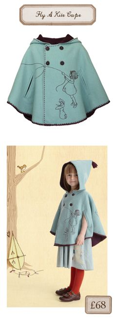 Belle and Boo cape - divine. I have to make a few of these, absolutely love this!!