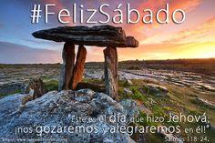 Dios te bendiga, ¡Feliz Sábado, día del Señor!